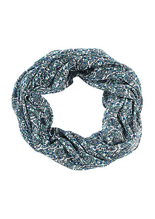 Lightweight patterned snood from s.Oliver