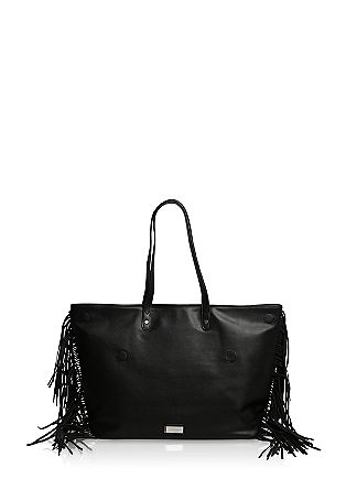 Shopper with fringing from s.Oliver