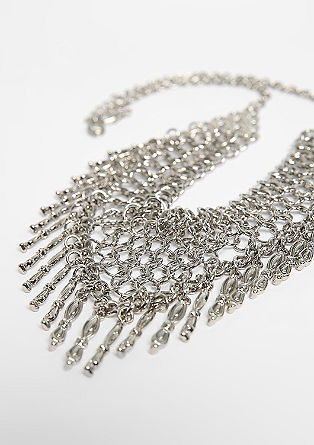 Wide necklace with pendants from s.Oliver