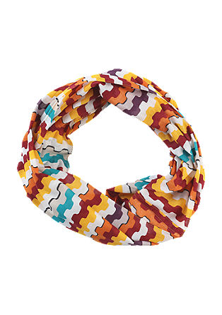 Snood with a coloured print from s.Oliver