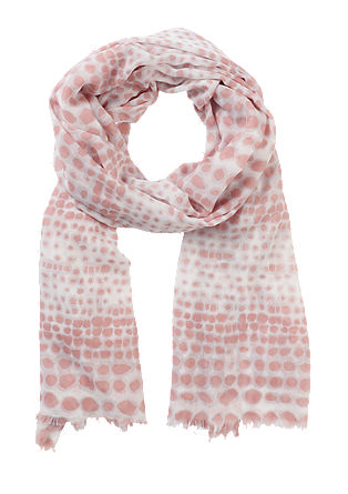Lightweight scarf with a printed pattern from s.Oliver