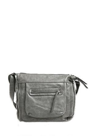 Shoulder Bag mit dekorativer Steppung