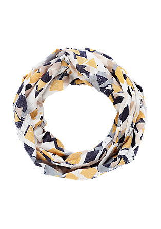 Snood with a graphic pattern from s.Oliver