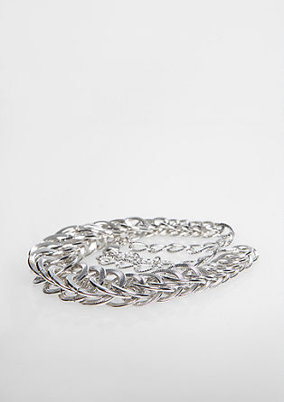 Shiny ring chain from s.Oliver