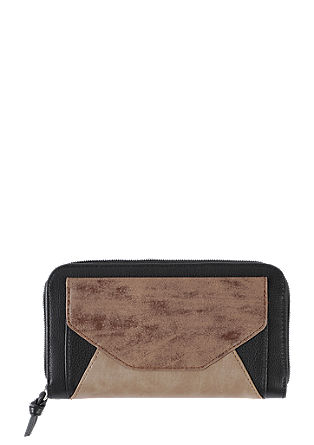 Zip wallet in a patchwork style from s.Oliver
