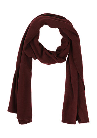 Double-faced knit scarf from s.Oliver