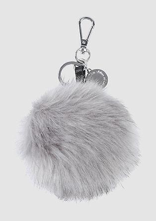 Pompom key ring from s.Oliver