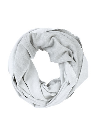 Soft snood in woven fabric from s.Oliver