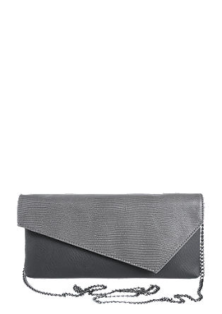 Mixed texture clutch from s.Oliver