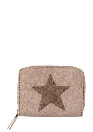 Portemonnaie mit Stern-Patch