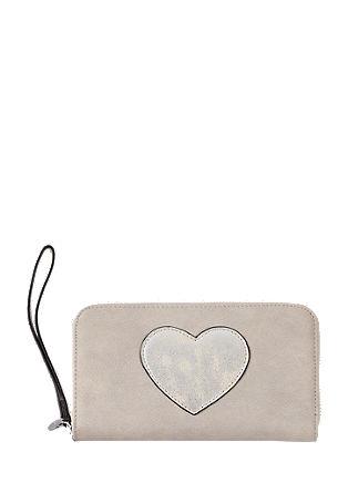 Portemonnaie mit Herz-Patch