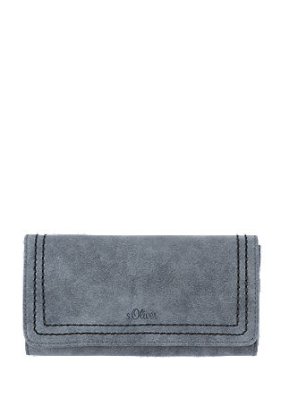 Purse with tone-in-tone seams from s.Oliver