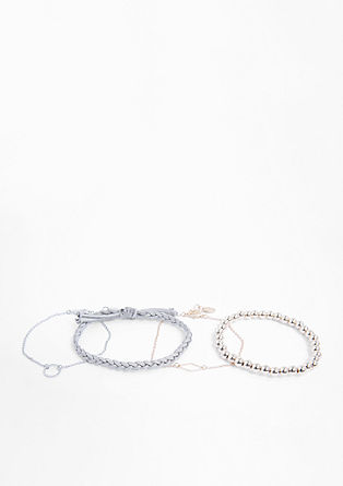Vierteiliges Armband-Set
