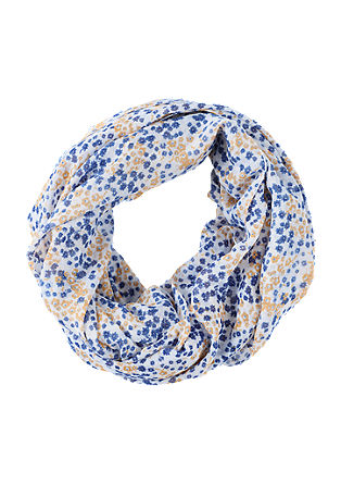 Snood with a floral print from s.Oliver