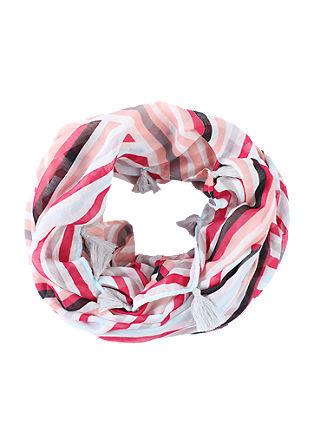 Streifen-Loop mit Quasten