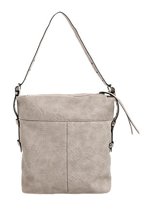 Hobo bag with an embossed pattern from s.Oliver