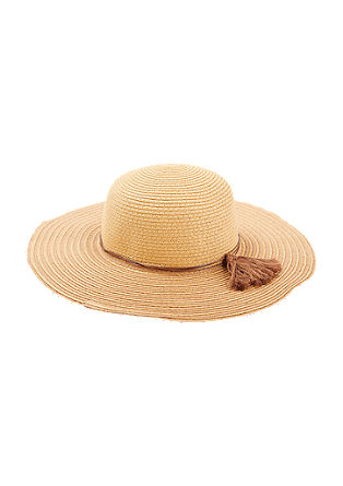 Sun hat with tassel band from s.Oliver