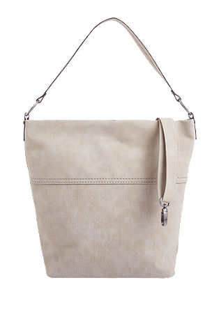 Hobo bag met vintage finish