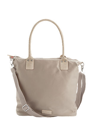 Shopper aus Satin