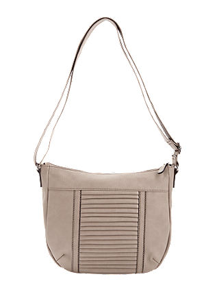 City bag met lamellendetail