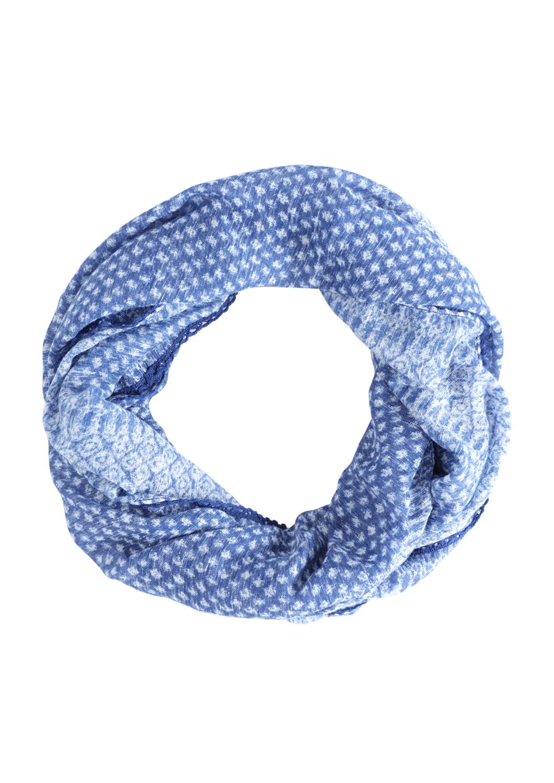 Loop | Accessoires > Schals & Tücher > Loops | Blau | 84% polyester -  16% baumwolle | s.Oliver