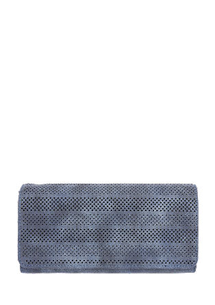 Wallet with a perforated pattern from s.Oliver