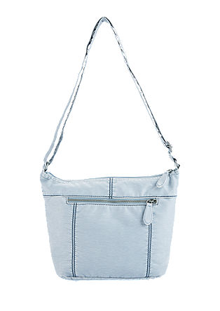 City bag in an ice metallic finish from s.Oliver