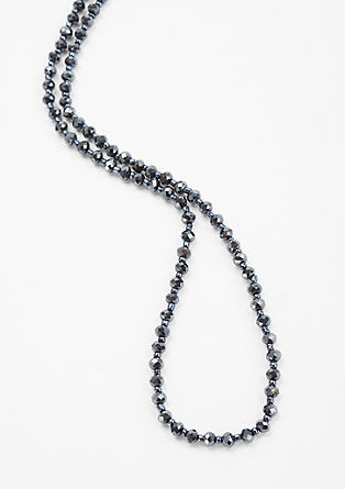 Long necklace with decorative beads from s.Oliver