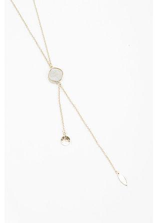 Y-ogrlica z okrasnim kamnom