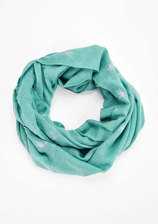 Loop | Accessoires > Schals & Tücher > Loops | Blau/grün | 65% polyester -  35% viskose | s.Oliver