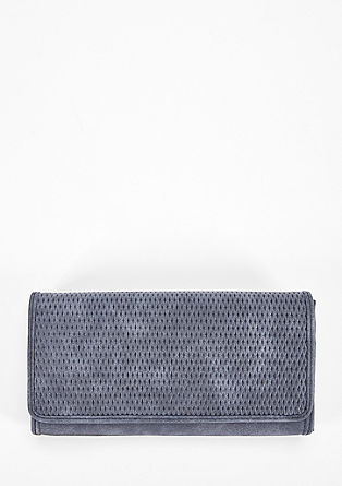 Wallet with embossed pattern from s.Oliver
