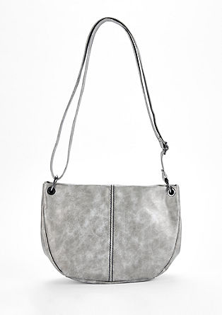 Shoulder Bag mit Metallic-Effekt