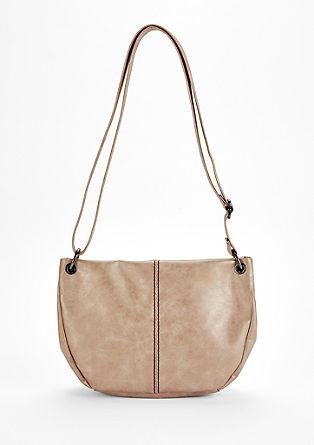 Shoulder Bag mit Metallic-Effekt