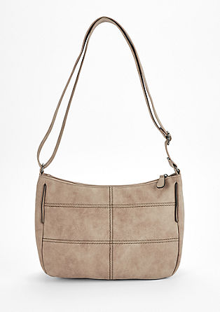 Shoulder bag with distinctive stitching from s.Oliver