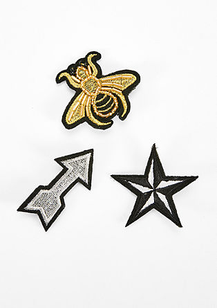 3er-Set Embroidery-Pins