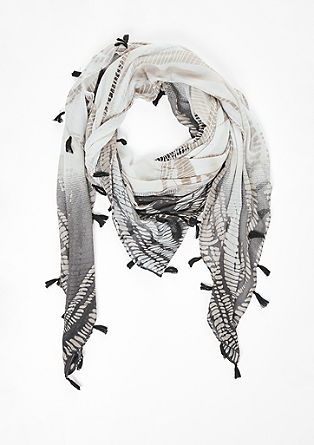 Fine printed scarf from s.Oliver