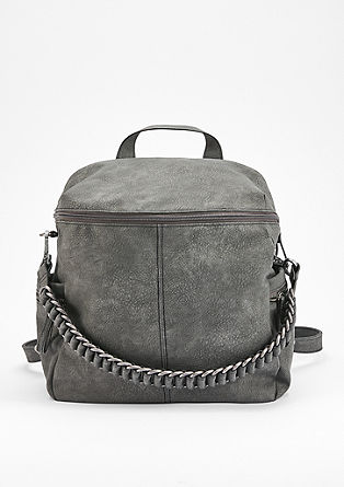 Cool rucksack with a chain strap from s.Oliver
