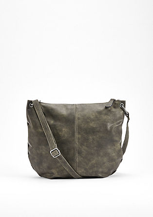 Imitation leather shoulder bag from s.Oliver