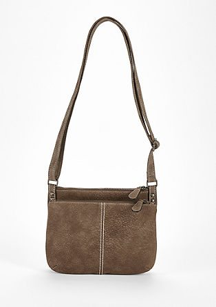 City bag with a textured pattern from s.Oliver