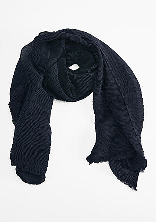 XXL scarf with a crinkled finish from s.Oliver