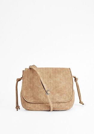 Shoulder bag with a laser-cut pattern from s.Oliver