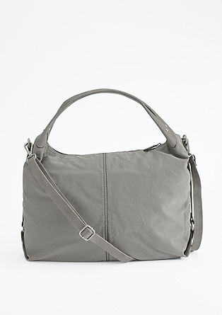 Crumpled suede shopper from s.Oliver