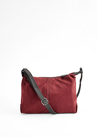 City bag van velours