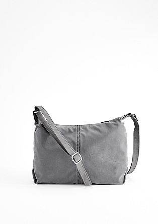 Suede city bag from s.Oliver