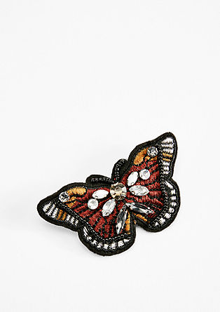Butterfly brooch with gemstones from s.Oliver