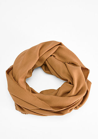 Classic woven snood  from s.Oliver