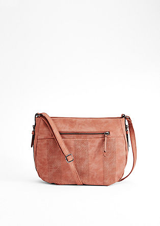 Shoulder Bag mit Lasercut-Muster