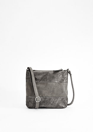 City Bag mit Metallic-Effekt