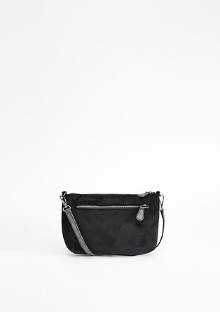 Stylish velvet clutch from s.Oliver