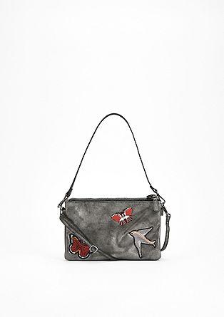 Bestickte Double-City Bag